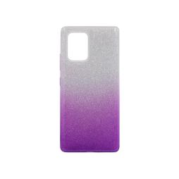 Samsung Galaxy S10 Lite - Gumiran ovitek (TPUB) - vijolična