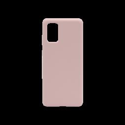 Samsung Galaxy S20 - Silikonski ovitek (liquid silicone) - Soft - Pink Sand