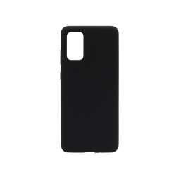 Samsung Galaxy S20+ - Silikonski ovitek (liquid silicone) - Soft - Black