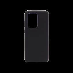 Samsung Galaxy S20 Ultra - Silikonski ovitek (liquid silicone) - Soft - Black