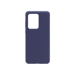 Samsung Galaxy S20 Ultra - Silikonski ovitek (liquid silicone) - Soft - Midnight Blue