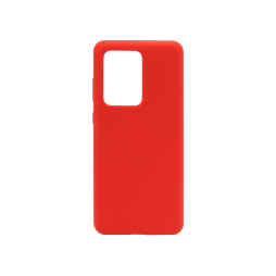 Samsung Galaxy S20 Ultra - Silikonski ovitek (liquid silicone) - Soft - Red