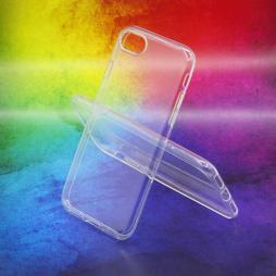 Apple iPhone SE (2020) - Gumiran ovitek (TPUA) - prosojen