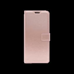 Samsung Galaxy S20 Ultra  - Preklopna torbica (WLC) - roza-zlata