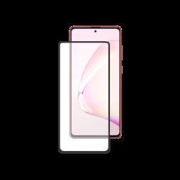 Samsung Galaxy Note 10 Lite - Zaščitno steklo Premium - črno do roba (0,30)