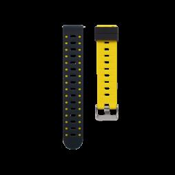 Silikonski pašček V15 (20mm) - rumeno črn