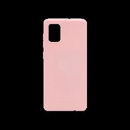 Samsung Galaxy A51 - Gumiran ovitek (TPU) - roza M-Type
