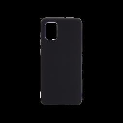 Samsung Galaxy A71 - Gumiran ovitek (TPU) - črn M-Type