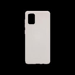 Samsung Galaxy A71 - Gumiran ovitek (TPU) - siv M-Type
