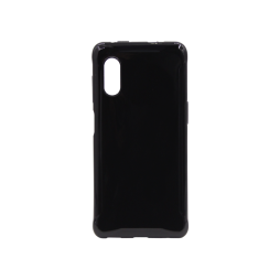Samsung Galaxy Xcover Pro - Gumiran ovitek (TPU) - črn svetleč