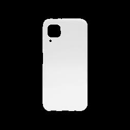 Huawei P40 Lite - Gumiran ovitek (TPU) - belo-prosojen svetleč