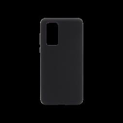 Huawei P40 - Silikonski ovitek (liquid silicone) - Soft - Black