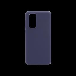 Huawei P40 - Silikonski ovitek (liquid silicone) - Soft - Midnight Blue