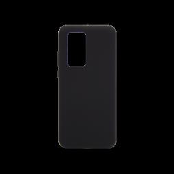 Huawei P40 Pro - Silikonski ovitek (liquid silicone) - Soft - Black