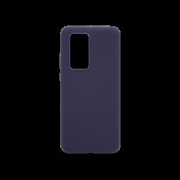 Huawei P40 Pro - Silikonski ovitek (liquid silicone) - Soft - Midnight Blue