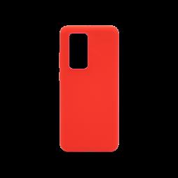 Huawei P40 Pro - Silikonski ovitek (liquid silicone) - Soft - Red