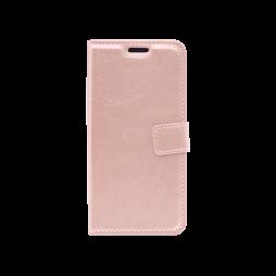 Huawei P40 - Preklopna torbica (WLC) - roza-zlata