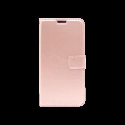 Huawei P40 Pro - Preklopna torbica (WLC) - roza-zlata