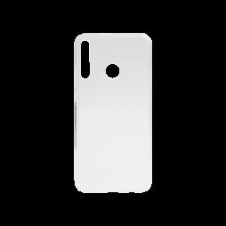Huawei P40 Lite E - Gumiran ovitek (TPU) - prosojen svetleč