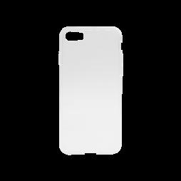 Apple iPhone SE(2020)/8/7/6 - Gumiran ovitek (TPU) - belo-prosojen svetleč