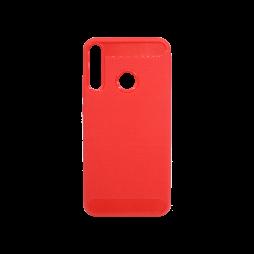 Huawei P40 Lite E - Gumiran ovitek (TPU) - rdeč A-Type
