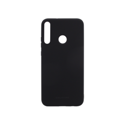 Huawei P40 Lite E - Gumiran ovitek (TPU) - črn M-Type