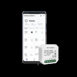Pametni dom – 1 kanalni WiFi zatemnilni krmilnik - Chameleon Smart Home