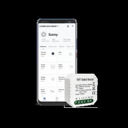 Pametni dom – 1 kanalni WiFi stikalni krmilnik - Chameleon Smart Home