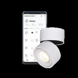 Pametni dom – Nadometni LED reflektor SUN z WiFi krmilnikom - Chameleon Smart Home
