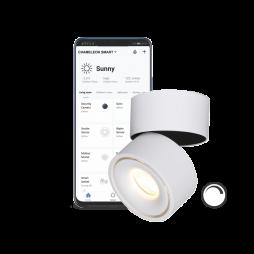 Pametni dom – Nadometni LED reflektor SUN z WiFi zatemnilnim krmilnikom - Chameleon Smart Home