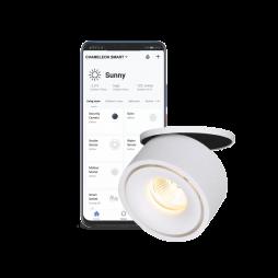 Pametni dom – Podometni LED reflektor SUN z WiFi krmilnikom - Chameleon Smart Home
