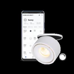 Pametni dom - Podometni LED reflektor SUN z WiFi zatemnilnim krmilnikom - Chameleon Smart Home