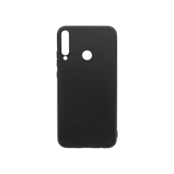 Huawei P40 Lite E - Gumiran ovitek (TPU) - črn MATT