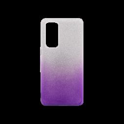 Huawei P40 - Gumiran ovitek (TPUB) - vijolična