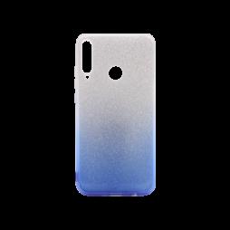 Huawei P40 Lite E - Gumiran ovitek (TPUB) - modra