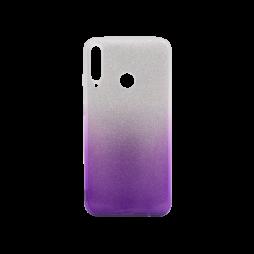 Huawei P40 Lite E - Gumiran ovitek (TPUB) - vijolična