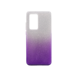 Huawei P40 Pro - Gumiran ovitek (TPUB) - vijolična