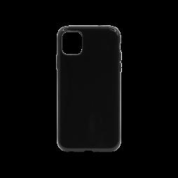 Apple iPhone 11 - Gumiran ovitek (TPU) - črn svetleč