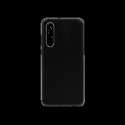 Huawei P30 - Gumiran ovitek (TPU) - črn svetleč