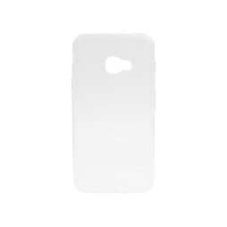 Samsung Galaxy Xcover 4/4S - Gumiran ovitek (TPU) - belo-prosojen svetleč