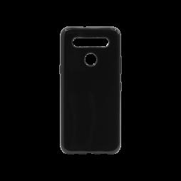 LG K51S - Gumiran ovitek (TPU) - črn svetleč