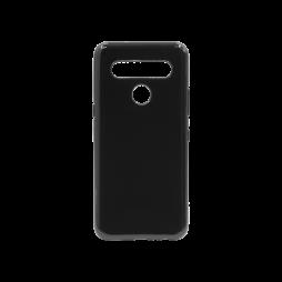 LG K61 - Gumiran ovitek (TPU) - črn svetleč