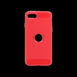 Apple iPhone SE(2020) - Gumiran ovitek (TPU) - rdeč A-Type