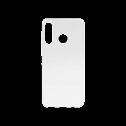 Huawei P30 Lite - Gumiran ovitek (TPU) - belo-prosojen svetleč