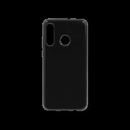 Huawei P30 Lite - Gumiran ovitek (TPU) - črn svetleč