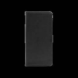 LG K41S/K51S - Preklopna torbica (WLG) - črna