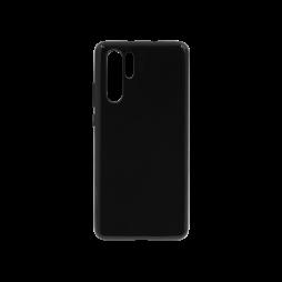 Huawei P30 Pro - Gumiran ovitek (TPU) - črn svetleč