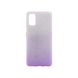 Samsung Galaxy A41 - Gumiran ovitek (TPUB) - vijolična