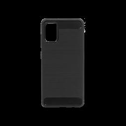 Samsung Galaxy A41 - Gumiran ovitek (TPU) - črn A-Type