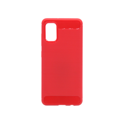 Samsung Galaxy A41 - Gumiran ovitek (TPU) - rdeč A-Type
